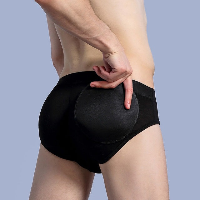 6d9db391e6 Men s Shapewear - Removable Pads Butt Lifter Underwear ...