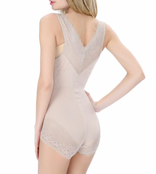 One-piece Girdle - Breathable Lace Full Body Sculpting Corset