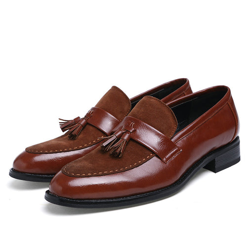 Casual Shoes -  Luxury Leather Oxfords Dress Shoes