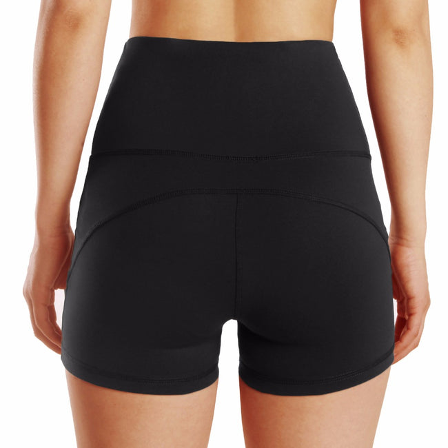 Short Bottoms - Quick Dry Absorb High Waist Elastic Sporting Shorts
