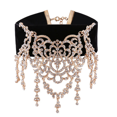Chocker - Luxury Rhinestone Choker