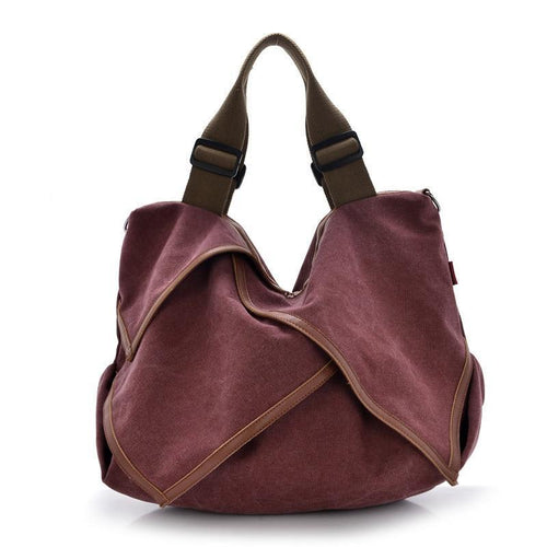 Bags -  Canvas Handbag Shoulder Bags