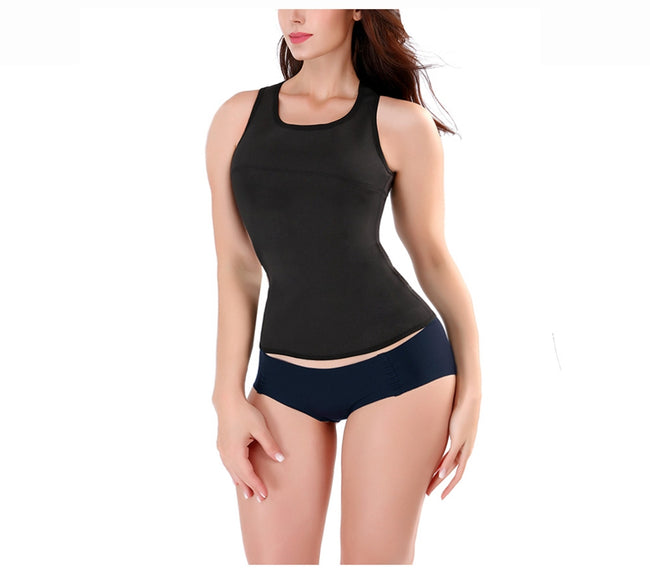 Slimming Top - Cross Strap Corrective Tank Top