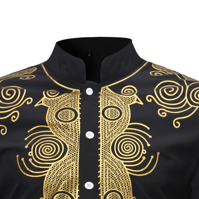 Shirt - Africa Dashiki Traditional Man Shirt