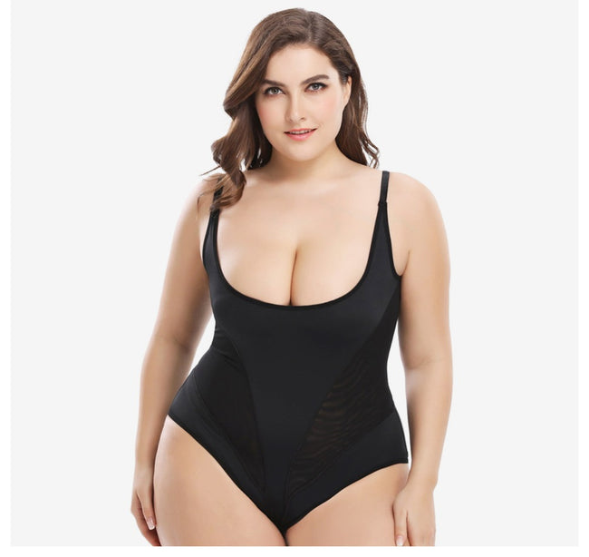 One-piece Girdle -  Full Body Slimming Belly Corrective Shaper
