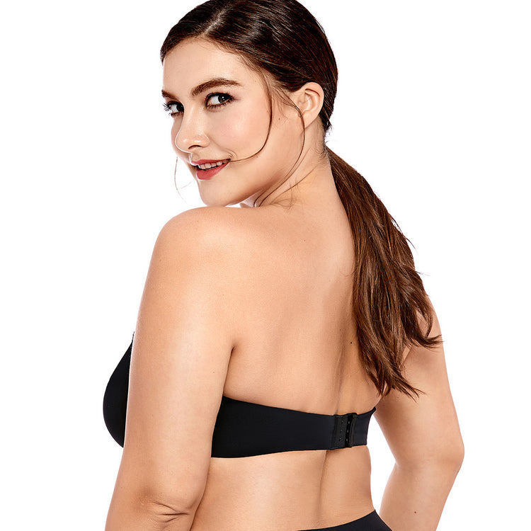 f88206d16 Womens Smooth Seamless Invisible Full Coverage Underwire Strapless  Minimizer Bra