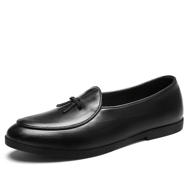 Loafers - Classic Fashion Tassel Soft Moccasins Leather Casual Loafers