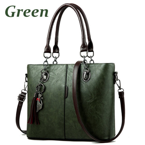 Bag - Big Leather Hand Bag For Women