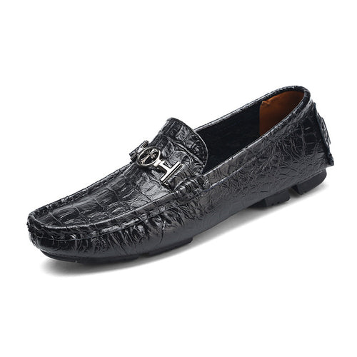 Casual Shoes -  Plus Size Loafers  Patent Leather Shoes