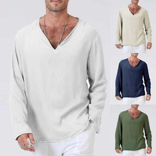 Men's Top - 2018 New Plain Basic Color Casual T-Shirts