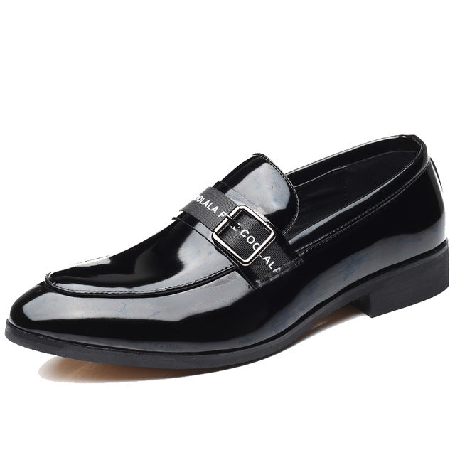 Casual Shoes - Luxury Plus Size Men Pointed Toe Shoes