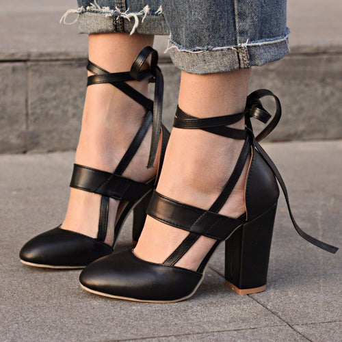 Pumps - Sexy Gladiator High Heels Pumps