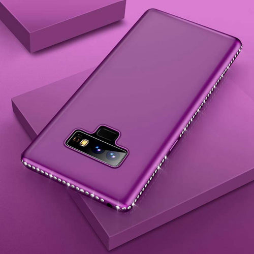 Samsung Case -  Luxury Rhinestone Silicone Case For Samsung Galaxy Note 9