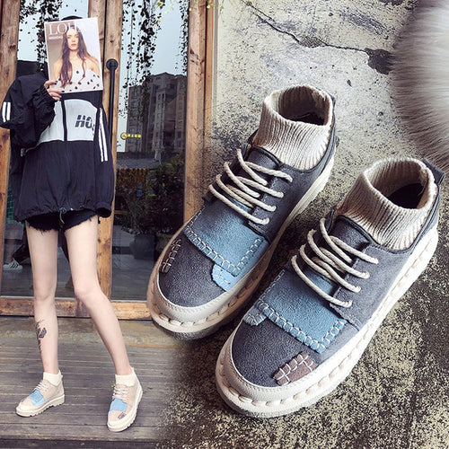 Casual Shoes - New Fashion Flats Canvas Casual Shoes