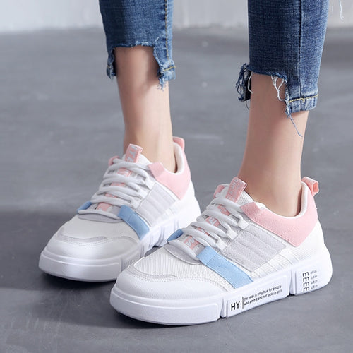 Casual Shoes - Fashion Breathable Mesh Flats Shoes