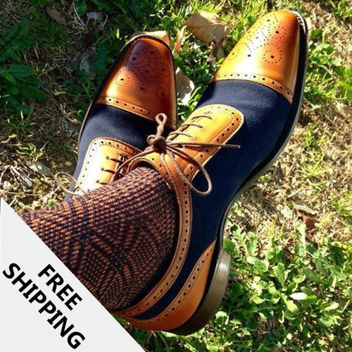 Casual Shoes - Color Matching Fashion Trend Men's Shoes