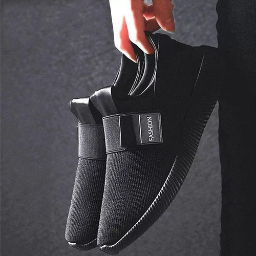 Casual Shoes - Men Breathable Slip On Walking Casual Shoes