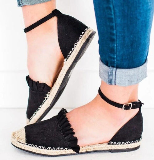 Flats - Pointed Toe Shallow Casual Shoes