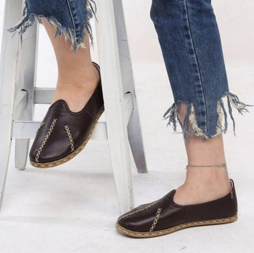 Flats - Casual Round Toe Slip On