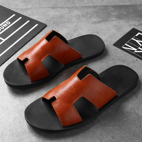 Sandals - Leather New Style Beach Slippers