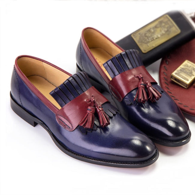 Loafers - Luxury Wedding Leather Shoes