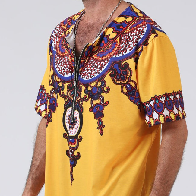 Men's Tops - African Style Printing T-Shirts