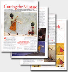 Artists and Illustrators magazine article about Sam Toft