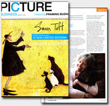 Picture Business article about Sam Toft