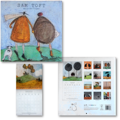 Official 2016 Calendar by Sam Toft