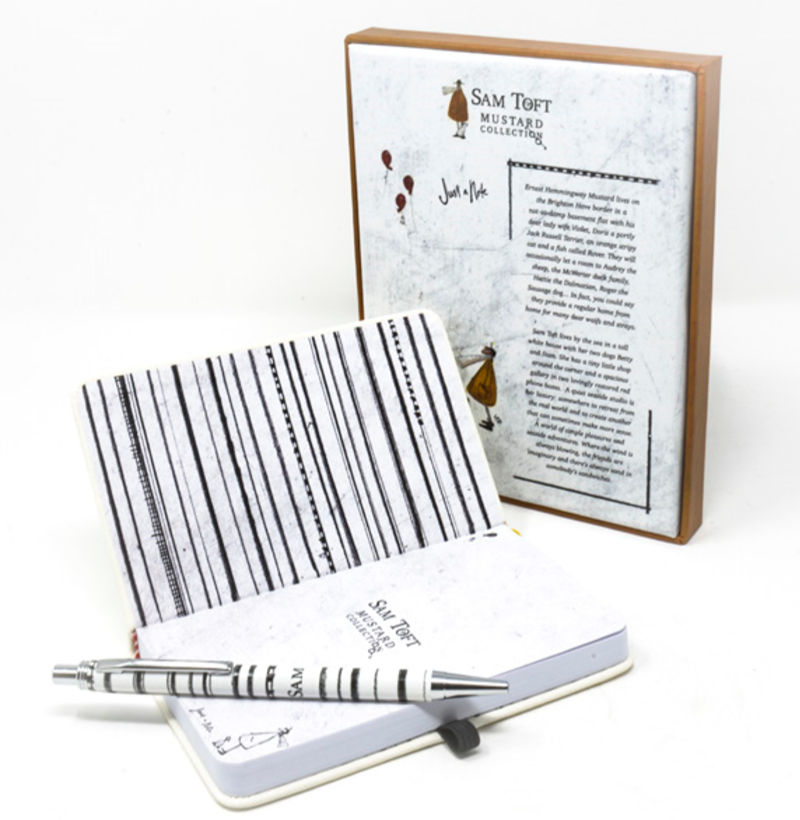 Just a Note - A6 Notebook Gift Set