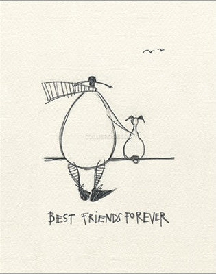 Best Friends Forever by Sam Toft