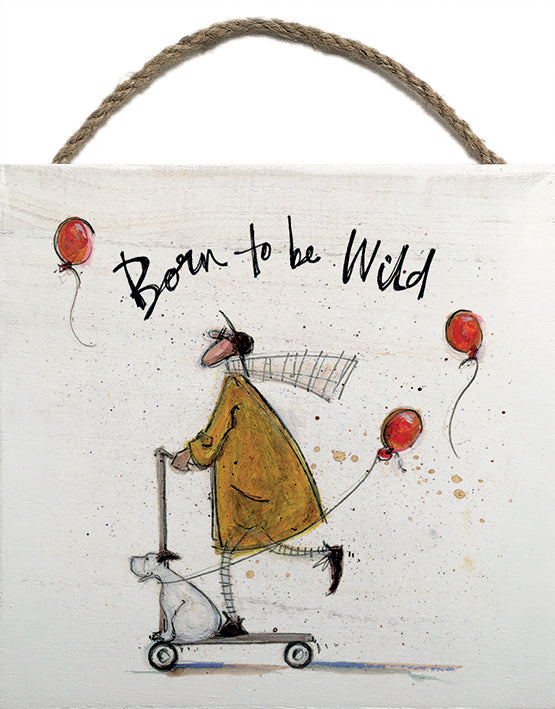 Born to be Wild - Wooden Block