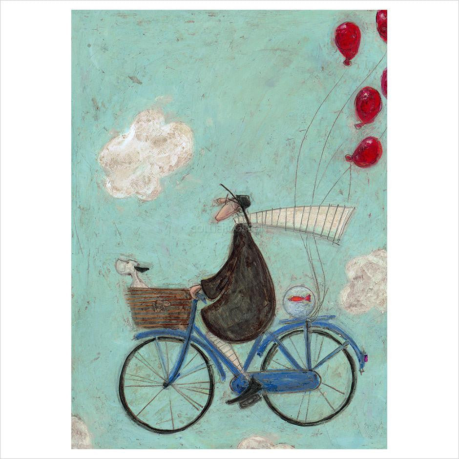 Imagination Can Take you Anywhere  by Sam Toft