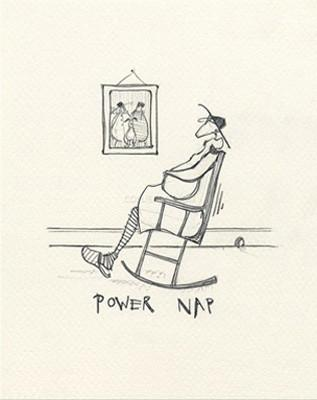 Power Nap by Sam Toft
