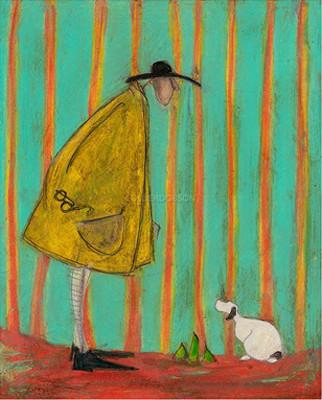 Three Green Shoots by Sam Toft