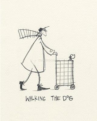Walking the Dog by Sam Toft