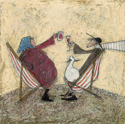 Absent Friends by Sam Toft