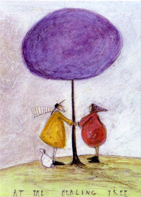 At the Healing Tree by Sam Toft