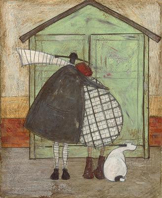 A Beach Hut of Our Own by Sam Toft