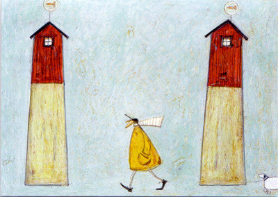 Between Tall Houses by Sam Toft