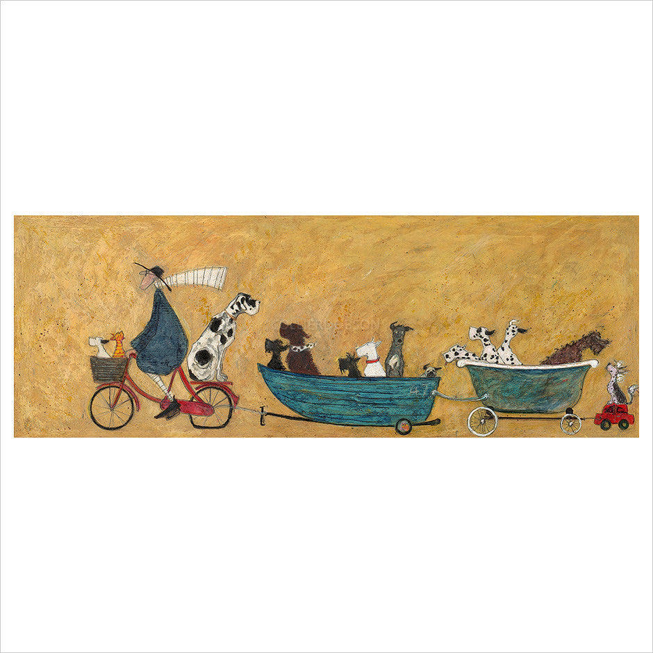 Big Doggie Taxi by Sam Toft