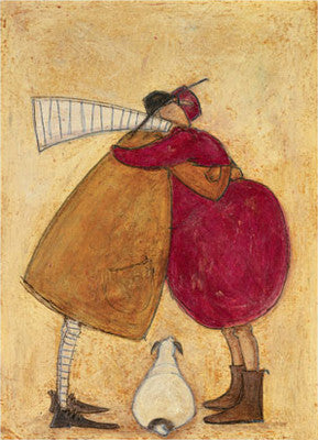 Big Mustard Hug by Sam Toft