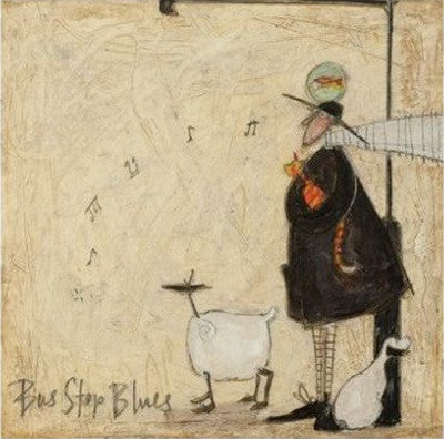 Bus Stop Blues by Sam Toft