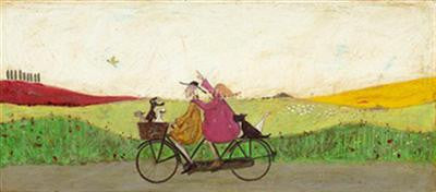 Cacophony of Copilots - Canvas Print by Sam Toft