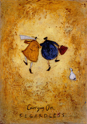 Carrying on Regardless by Sam Toft