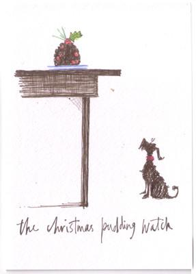 The Christmas Pudding Watch by Sam Toft