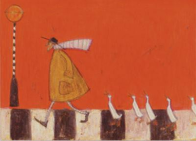 Crossing with Ducks by Sam Toft