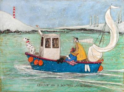 Cruisin' on a Winter's Afternoon by Sam Toft