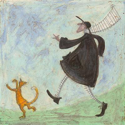 Dancing with Stripes by Sam Toft