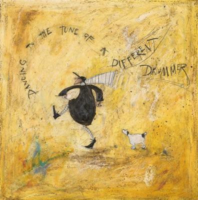 Dancing to the Tune of a Different Drummer by Sam Toft